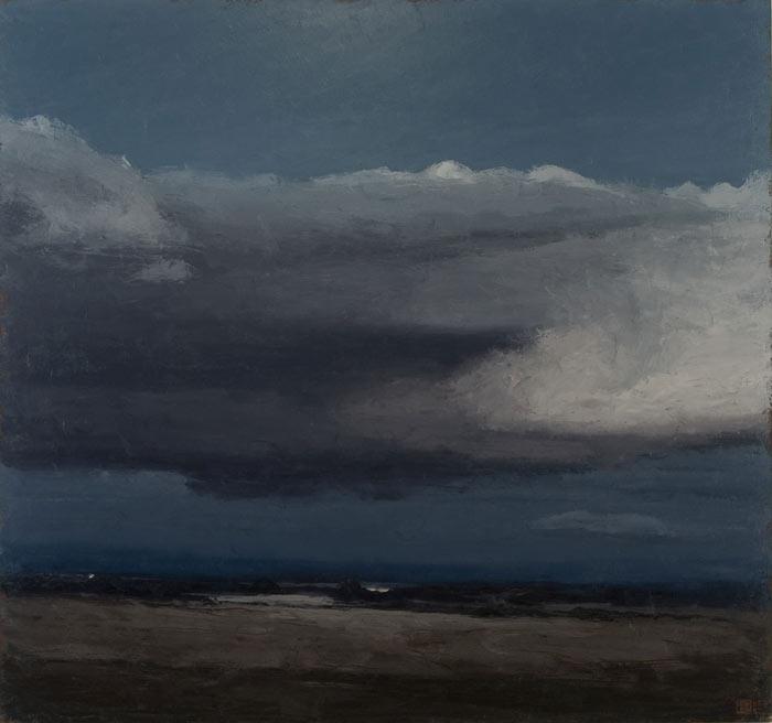 Philip Wolfhagen Winter Nocturne Iv Wynne Prize 2007