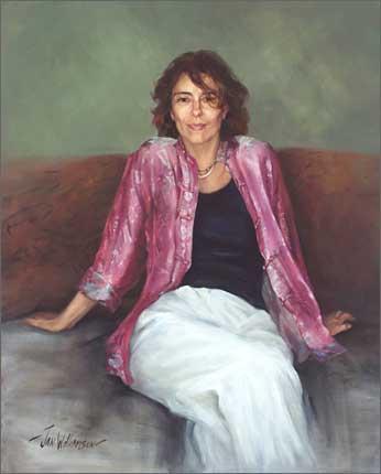Jan Williamson Rachel Ward Archibald Prize 2003 Art