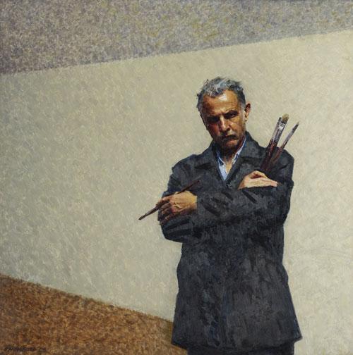 Robert Hannaford Self Portrait Archibald Prize 2009