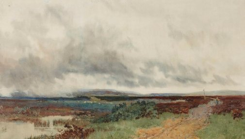 An image of Landscape by John Mallord Bromley
