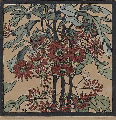 An image of Wheel flower by Margaret Preston