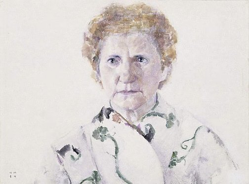 An image of Eleni Mourtzakis (The artist's mother) by Nick Mourtzakis
