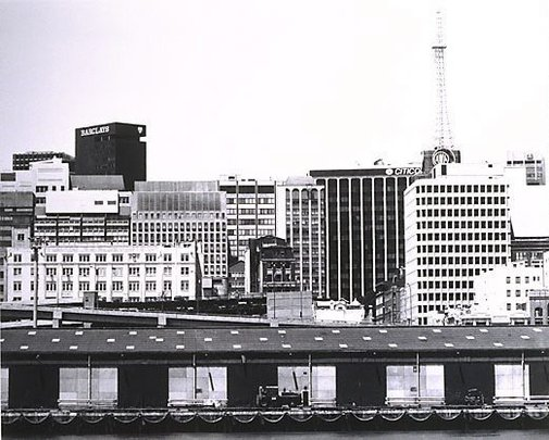 An image of Darling Harbour: City 1979 by Mark Johnson