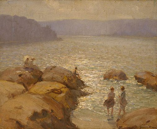 An image of Morning, Middle Harbour by James R Jackson